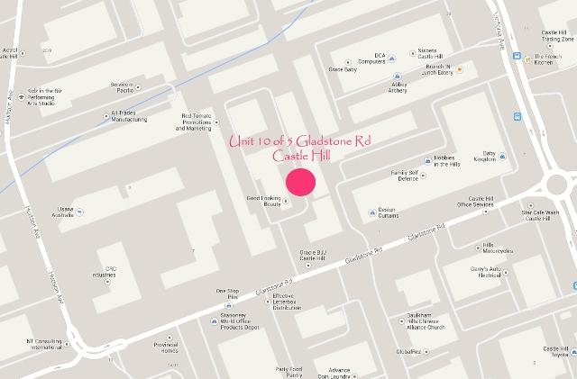 Quantum Corporate Park Map location of studio