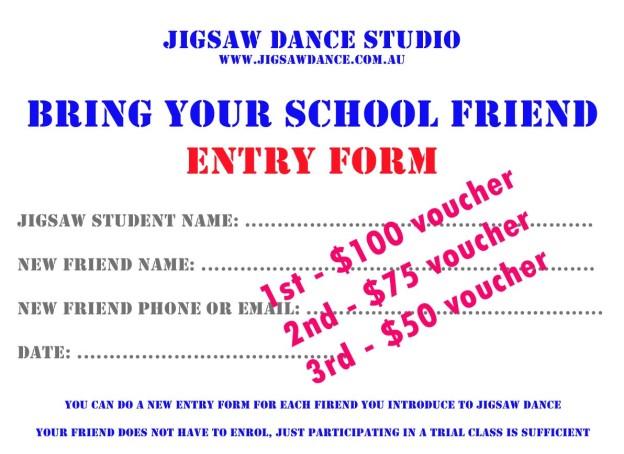 Bring your school friend form