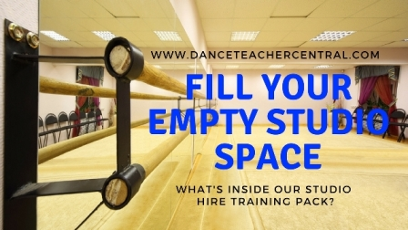 Fill your empty dance studio space with Dance Teacher Central