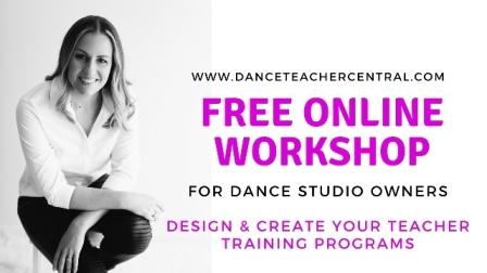 Free online dance studio owners workshop